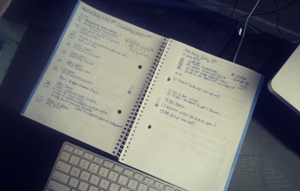 Online notebook paper to type on