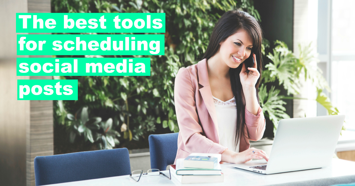 Social media scheduling