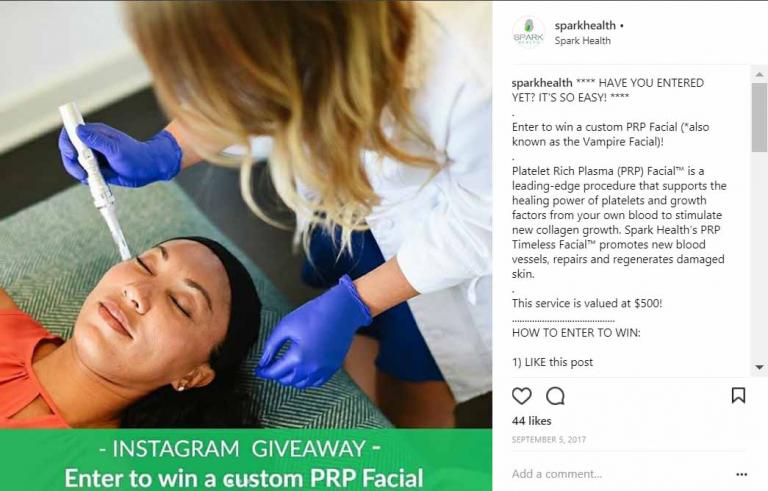 social media contest san diego