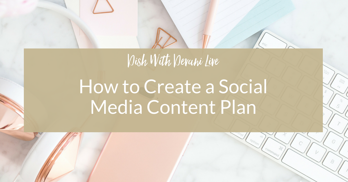How to Create a Social Media Content Plan